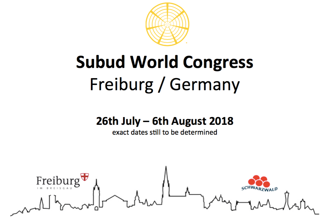 Subud World Congress 2018 Logo