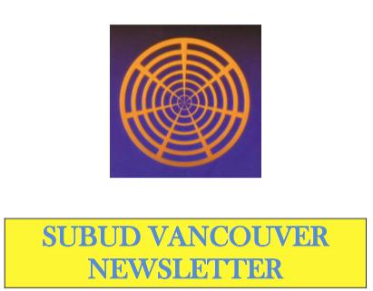 Subud Vancouer Newsletter