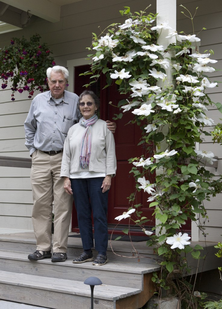 The Branchflowers at their home in Pouslbo, WA