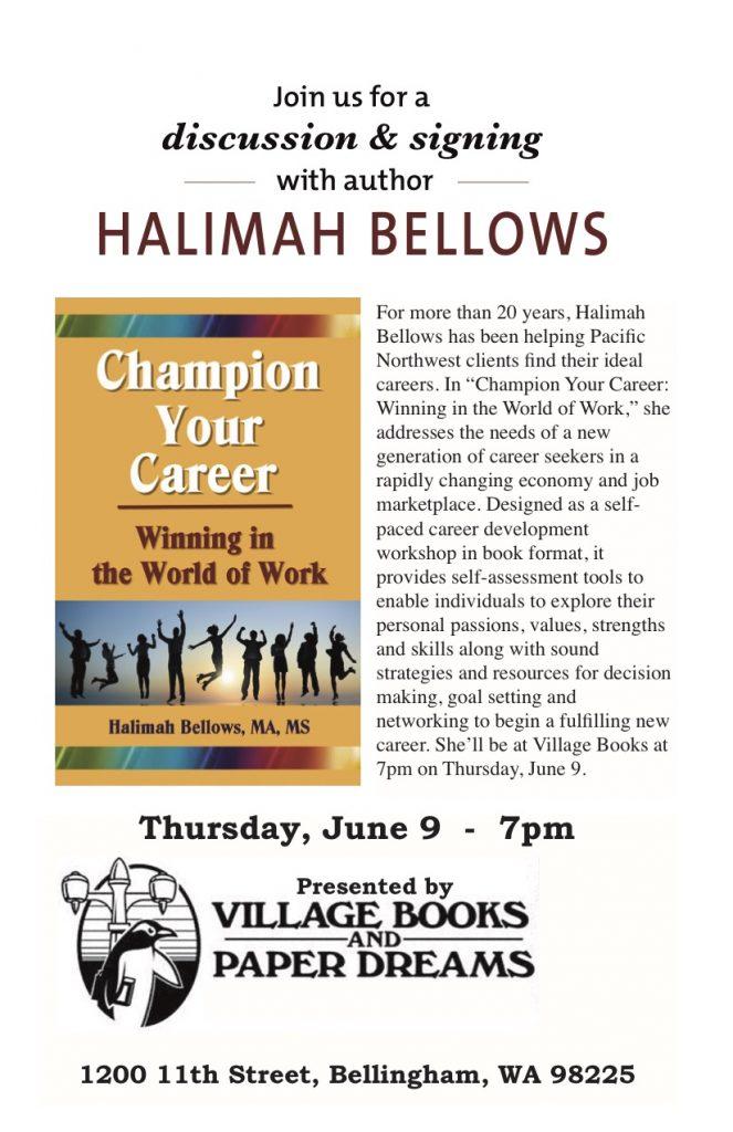 Halimah Bellows h-village books single